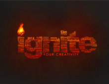 Ignite – Typography Design