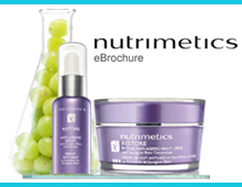 Nutrimetics – Email Newsletter Design – Company Project